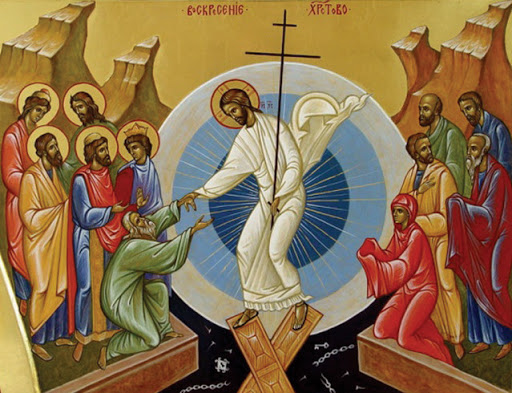 resurrezione icona